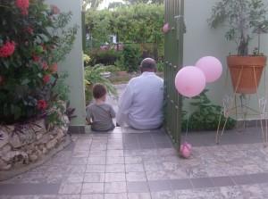Finn en Opa Vlieger