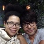 met ander mannetje en mijn dansbuddy Luís