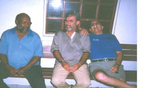 Sjorrie, oom Wim en oom Henk