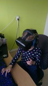Spel spelen met de Oculus Rift