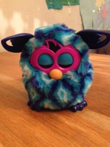 Furby in slaapstand